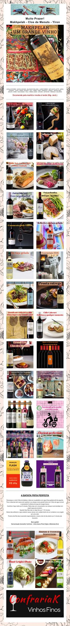 Muito Prazer!  Makhpelah -Clos de Menuts - Yiron Mouton Cadet, Laurent Perrier, Wine Pairings