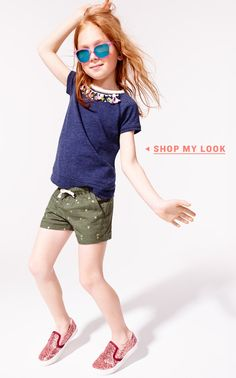 Girls' Denim Shorts & Chino Shorts : Girls' Shorts | J.Crew
