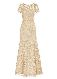 Dresstells® Long Lace Bridesmaid Dress Short Sleeved Evening Party Dress Champagne Size 12 Dresstells http://www.amazon.com/dp/B014126LGY/ref=cm_sw_r_pi_dp_mjc9wb1AK09C9
