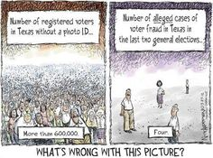 Voter fraud is a myth and a rouse to keep eligible people from voting.