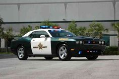 Dodge Challenger Police car