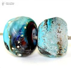 Glass lampwork beads Rustic Antiquities ANCIENT by radiantmind, $19.00