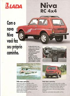 Viajante Do Tempo Real: LADA NIVA Station Wagon, Mercedes Gl, Hobby Cars, 4x4 Off Road, Super Cars, Super 4, Car Advertising, Cars And Motorcycles, Offroad