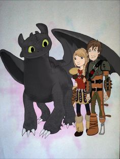 How to train your dragon 2 fan artwork :)