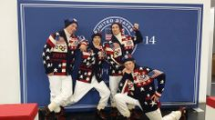 David Wise, Lyman Currier, Torin Yater-Wallace and Aaron Blunck