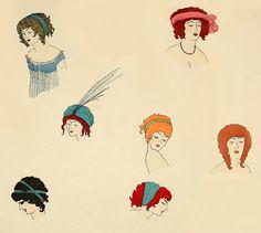 Les Robes de Paul Poiret, 1908. by Double--M