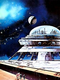 Future City by Edward Blair Wilkins  #FutureCity  #EdwardBlairWilkins