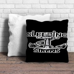 Sleeping with Sirens Anchor Kellin Quinn Pillow | Aneend