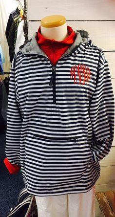 Monogram Charles River Pullover Chatnam Anarack Jacket by HeyYallandCo on Etsy