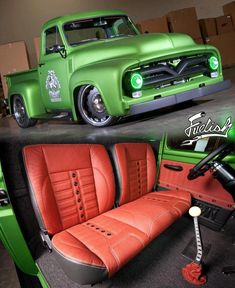 rat rod trucks and cars 1956 Ford Truck, Old Ford Trucks, Diesel Trucks, Old Ford Pickups, Custom Pickup Trucks, Old Pickup Trucks, Dropped Trucks, Classic Pickup Trucks, Us Cars