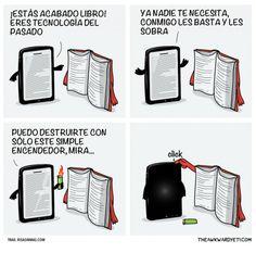 Los libros son tecnología del pasado