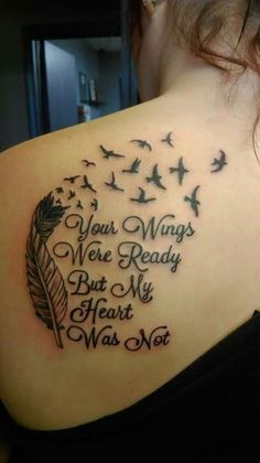 28 Best Shoulder Memorial Tattoos For Women Images Tatoos Back