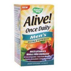 Alive Multivitamin For Men - visit http://www.dailygate.org/multi-vitamin/alive-multivitamin-for-men/