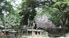 Preah Pithu Group in Angkor Thom Siem Reap, Cambodia Date: Beginning of 12th century, Reign: Suryavarman II, Religion: Hindu/Buddhist  Read more: http://www.globaltravelmate.com/asia/cambodia/angkor/angkor-temples/549-siem-reap-preah-pithu.html#ixzz2Xb0j62bn