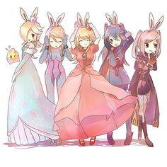 Super Smash Girls