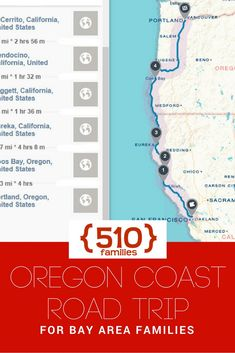 Vacation Inspiration: Oregon Coast with Kids - a road trip from the Bay Area - 510 Families
