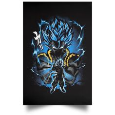 Dragon Ball Canvas Poster Limited - Black / 12 x 18