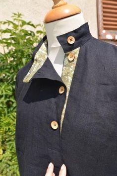 Shirt Kosovorotka by CostumeRusse on Etsy