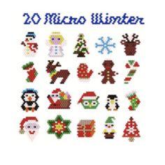 Hama Beads Patterns, Peyote Patterns, Beading Patterns, Christmas Minis, Christmas Candy, Xmas, Beaded Earrings Native, Perler Beads, Seed Beads