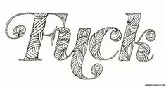Uckfey #typography #cussing #hand_lettered