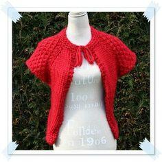 tolede 016 Gilets, Pulls, Crochet, Blog, Fashion, Knits, Accessories, Door Jammer, Red