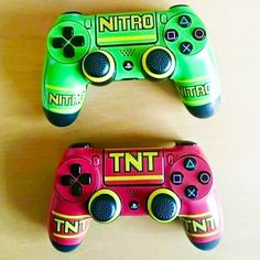 Crash Bandicoot PS4 Controllers
