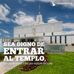 """...ser """"digno de entrar en el templo"""", en las buenas y en las malas épocas. Quentin L. Cook"""
