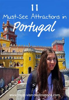 There's plenty to do and see in Portugal, however, some destinations and sights just cannot be missed. Here are some of the top-rated tourist attractions and best destinations in Portugal. Portugal Vacation, Portugal Travel Guide, Portugal Trip, Visit Portugal, Spain And Portugal, Amazing Destinations, Vacation Destinations, Vacations, Vacation Ideas