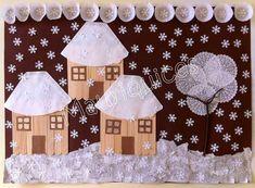 Kids Crafts, Winter Crafts For Kids, Diy And Crafts, Arts And Crafts, Paper Crafts, Painting For Kids, Art For Kids, Christmas Art, Christmas Decorations
