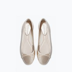Image 5 of PATENT BALLERINA SHOES from Zara