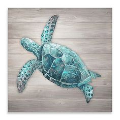 An emerald tone sea turtle appears to navigate the wood-grained currents of this Sea Turtle Wood Panel Wall Art. The bare, unfamiliar setting and animal& vivid details offer conflicted elements. Adorn your walls with something surreal and familiar. Wood Panel Walls, Panel Wall Art, Wood Paneling, Wood Canvas, Wood Art, Sea Turtle Decor, Sea Turtle Crafts, Sea Crafts, Wood Crafts