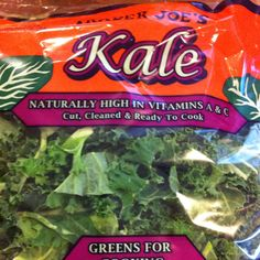 New eating adventure for me. I thought kale was a plate decoration. What? U eat it?