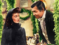 Viven Leigh and Clark Gable - Gone With The Wind