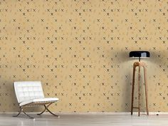 Design #Tapete Resis Wandmalerei
