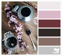 color setting color palette from Design Seeds Colour Pallette, Colour Schemes, Color Combos, Color Patterns, Design Seeds, Color Borgoña, Colour Board, Colorful Decor, Colorful Interiors