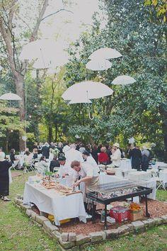 Black & White Atlanta Wedding