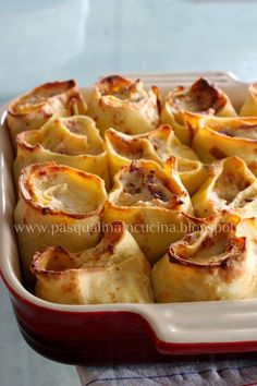 Pasqualina in cucina: Crespolini alla Ravellese