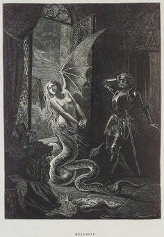 "findchaos: "" amoebapudding: "" Illustrations by Émile Bayard for Paul Christian's Histoire de la magie, "" Demon parties are all fun and games until someone gets thrown over a cliff. Fantasy Kunst, Fantasy Art, Art Noir, Art Vintage, Occult Art, Arte Horror, Inspiration Art, Mythical Creatures, Dark Fantasy"