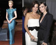 Cate Blanchett  & Penelope Cruz In Armani Privé – Chopard Party