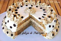 Mocha cake con ganache al caffe' by GabriellaScioni on DeviantArt Torte Cake, Cake & Co, Mocha Cake, Mocha Chocolate, Bulgarian Recipes, Mocca, Biscotti, Food Art, Yummy Treats