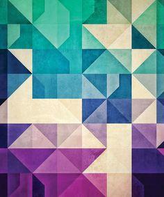 Geometric Sham - Colors