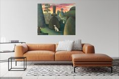 Decorate your home with a unique painting of After the Bullfight by Mary Cassatt a renowned modern artist. Express your originality & style, shop now, enjoy famous artwork for sale. Tree Wall Art, Wall Art Decor, Dorms Decor, Johannes Vermeer, Beach Canvas, Tree Photography, Landscape Photography, Animal Photography, Texas Longhorns