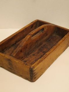 Antique Wood Tool Caddy