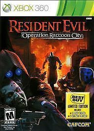 Resident Evil: Operation Raccoon City (Xbox 360) Great Shape