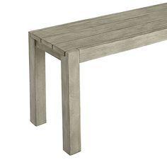 dockside bench in outdoor | CB2 $149.