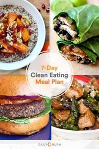 7 Days of of Clean Eating, Made Simple