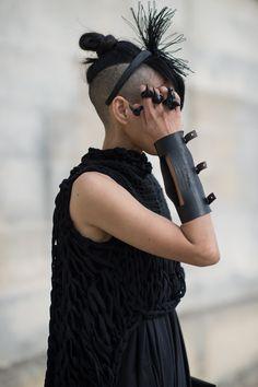 Lily Gatins • Paris Fashion Week • Photo by Julien Boudet • bleumode.com
