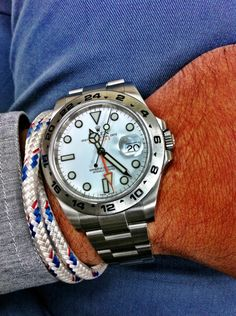 A place to enjoy and post pictures of cool watches and tasty brews. Oh and other cool pictures and posts as well. Stylish Watches, Luxury Watches, Cool Watches, Rolex Watches, Watches For Men, Rolex Explorer Ii, Pin Man, Just For Men, Sharp Dressed Man