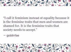 feminism isn't **just** for women