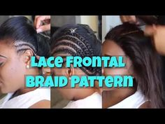DIY Braid Pattern for a Lace Frontal Plus More by @TTDoesitall - YouTube